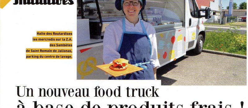 Food truck Routardises Nord Isère